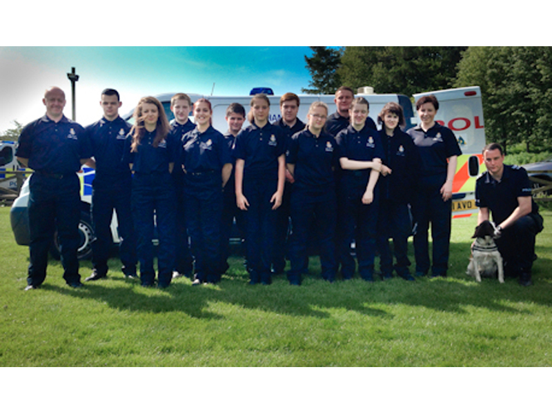 Darlington cadet unit at Dogwise