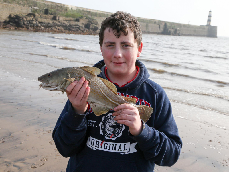 Bishop Auckland Teens Join Police For A Spot Of Fishing