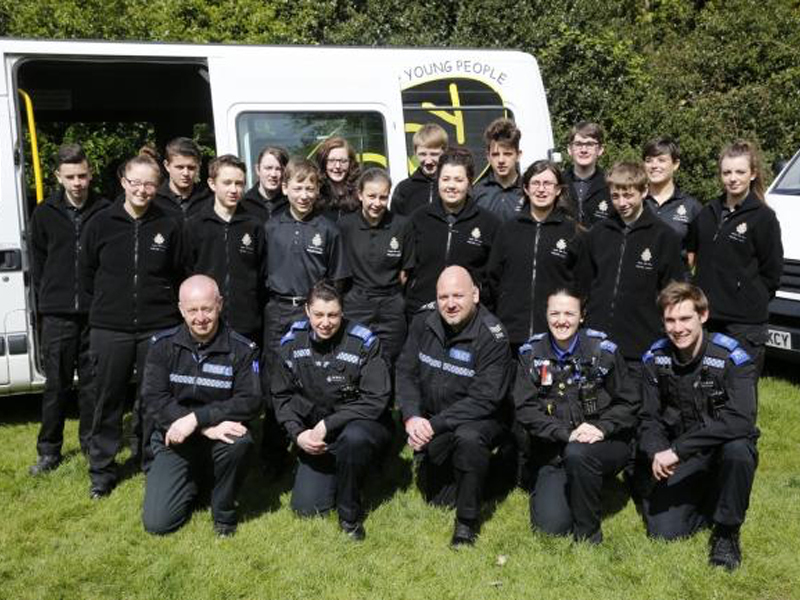Police cadets to recruit two new units