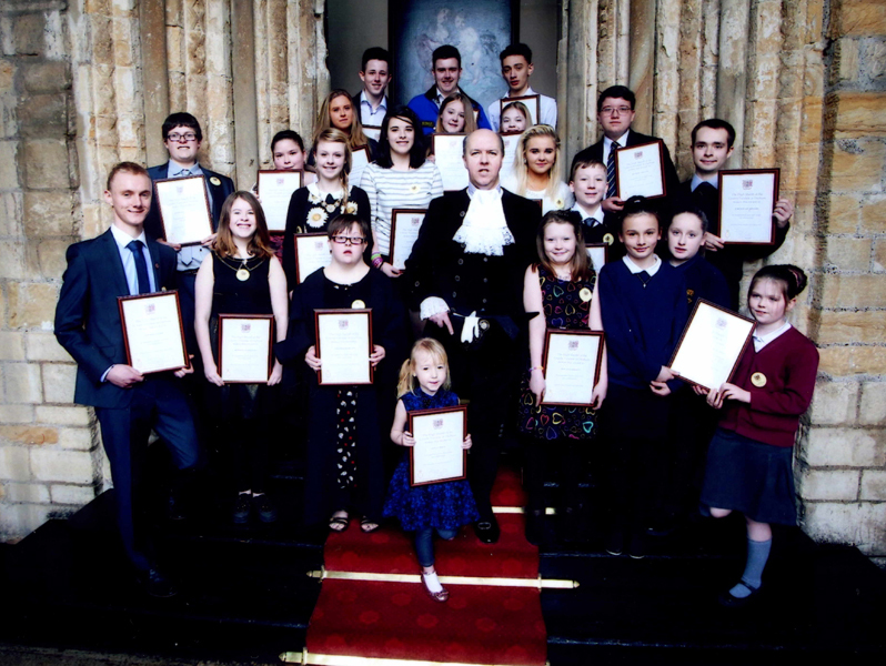 Shrievalty Awards 2014 - Awards celebrate the achievements of the region's youth