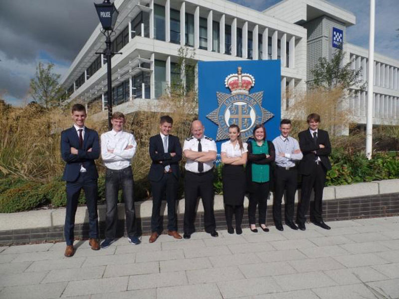 Trailblazing teenagers vow to make a difference to the North-East through Cadets scheme