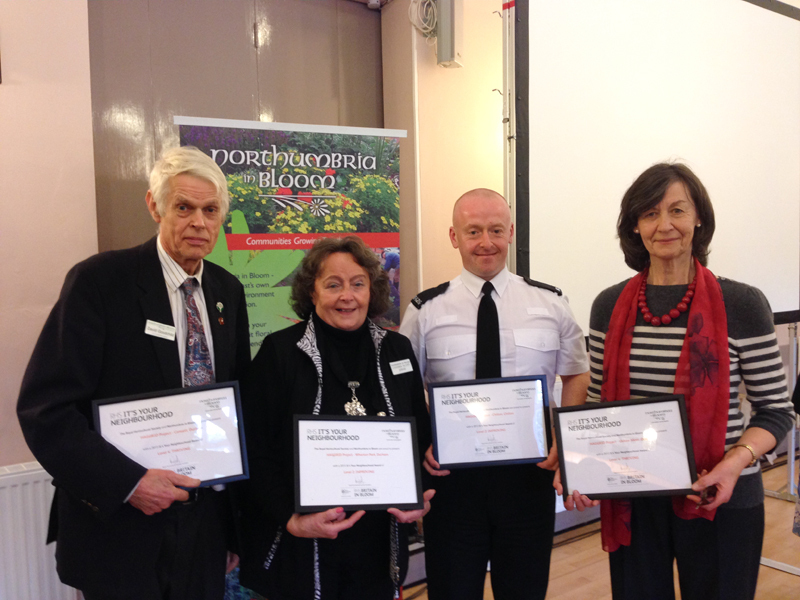 Royal Horticultural Society It's Your Neighbourhood Awards 2013